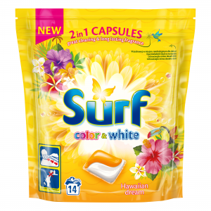 Surf Hawaiian dream color&white kapsułki do prania 30 szt.