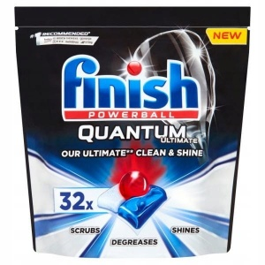 Finish Quantum tabletki do zmywarki 32 szt.