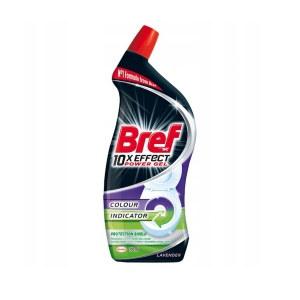 Bref żel do WC 10x Effect Colour Indicator  700 ml