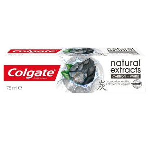 Colgate Natural Extracts Carbon+White pasta do zębów 75ml